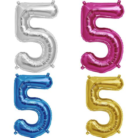Number Balloon 16 inch balloon numbers by bubblegum balloons