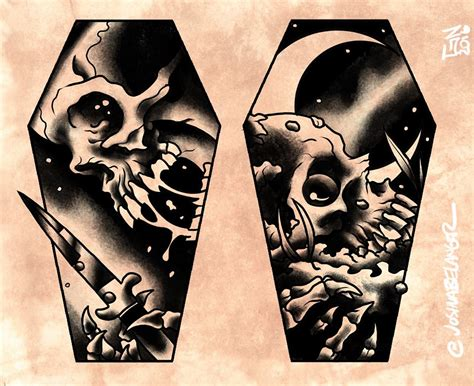 spooky tattoos 66 creepy spooky design ideas to show this summer