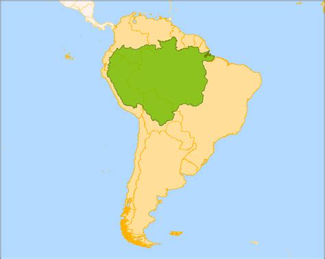 amazon map amazon basin rainforest map www pixshark com images