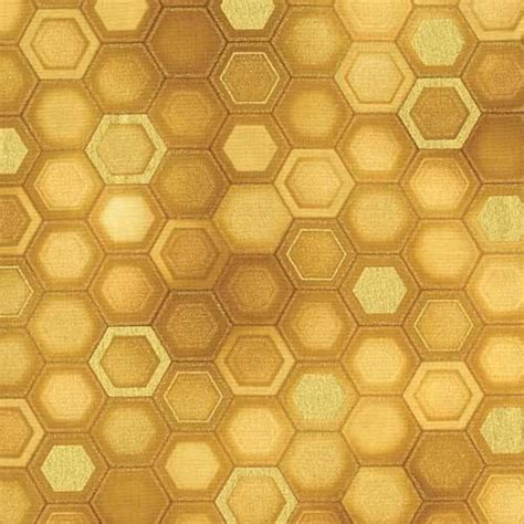 gold honeycomb pattern honeycomb gold fabric product details keepsake quilting