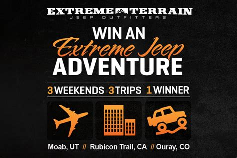 jeep adventure logo jeep adventure contest rockcrawler