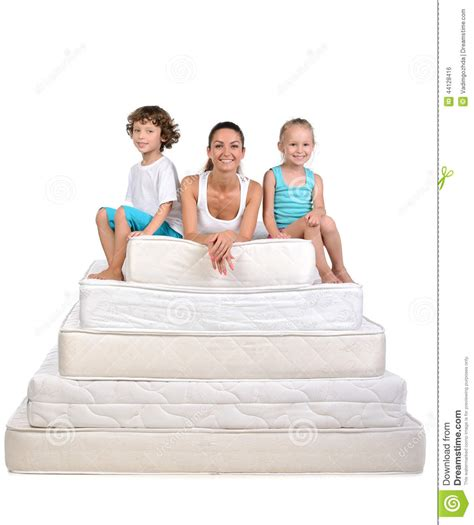 Where To Take Mattresses by Family And Many Mattresses Stock Photo Image 44128416