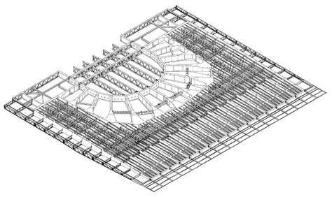 Cantilever Balcony by Analysis And Design Of The Copenhagen Opera House Roof