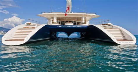 largest catamaran   world hemisphere yacht