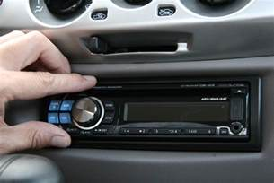 how to install new car stereo how to install a car stereo with pictures wikihow