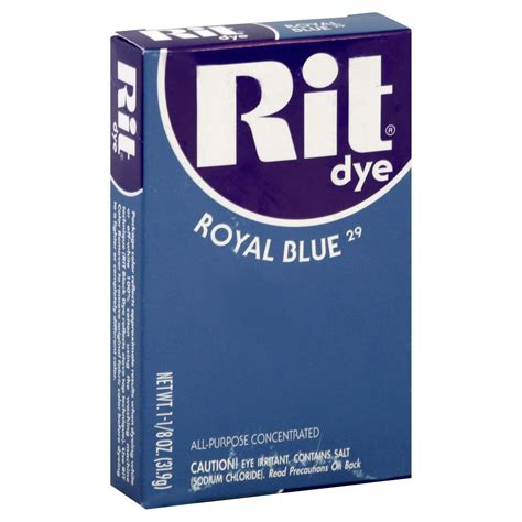 royal blue dye rit rit dye tinite all purpose concentrated royal blue azul