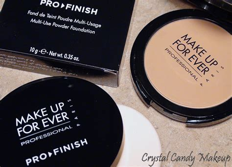 Makeup Forever Pro Finish makeup review swatches make up for
