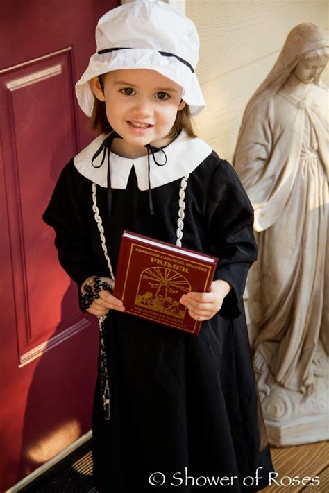 st elizabeth ann seton costume   saints day