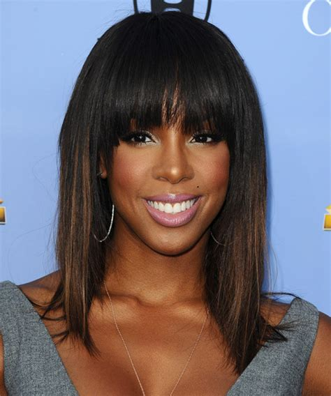 show me shoulder lane hair styles with bangs kelly rowland hairstyles in 2018