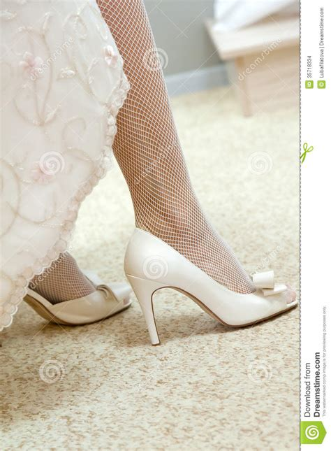 Releases Intimate Footage Of Wedding Celebrations As She Pays Tribute To Family by Wedding Shoes On Their Stock Photo Image 35718334