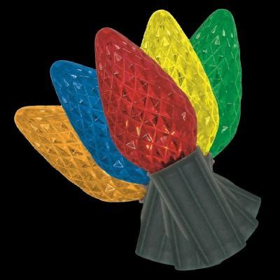 home accents holiday 25 light led c9 72 function red green