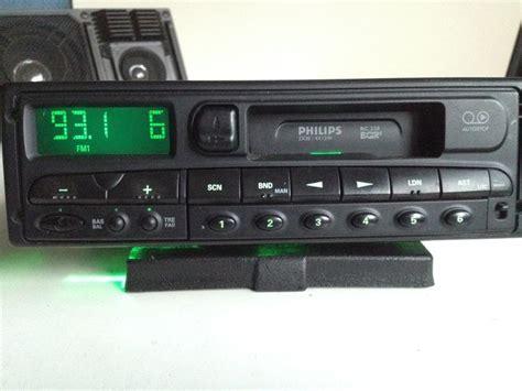 car radio cassette philips rc228 stereo car radio cassette player catawiki