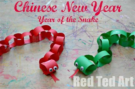 new crafts for new year crafts for year of the snake