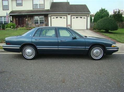 sell used 1995 buick park avenue base sedan 4 door 3 8l in lumberton new jersey united states
