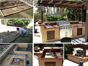 How would you like to make your very own outdoor bbq and kitchen