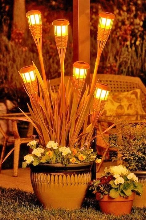 tiki torches backyard backyard tiki torches ideal outdoor space pinterest