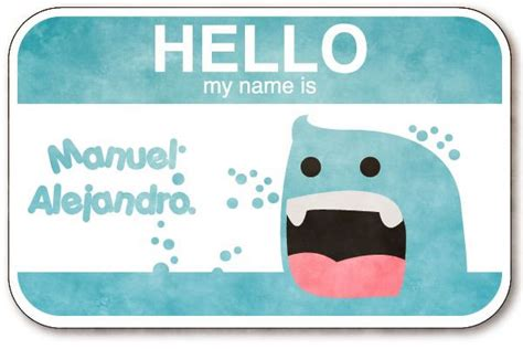 name tag creative design community project customized name tag round 2