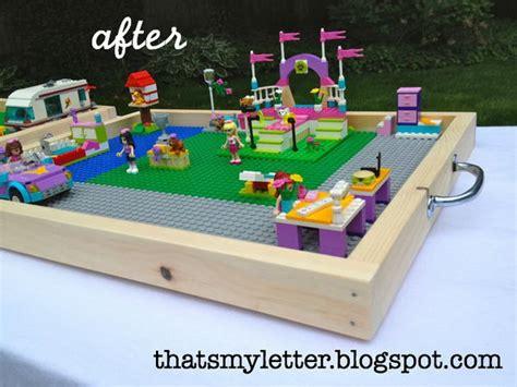 diy portable lego table creative lego storage ideas