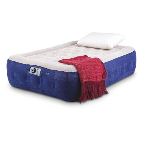 intex air beds intex supreme rising air bed 226276 air beds at sportsman s guide