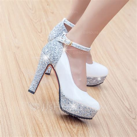 Wedding Shoes Chunky Heel by S Leatherette Chunky Heel Pumps 047108879