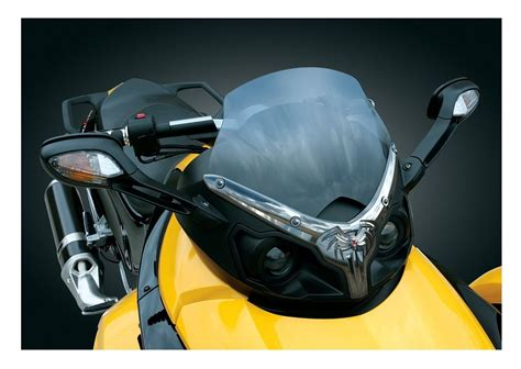 Raket Rs Air Chrome 800 kuryakyn widow windshield trim can am spyder rs gs cycle gear