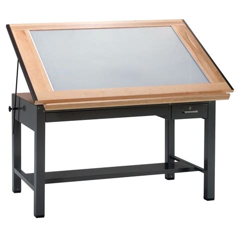drafting table with light professional looking prototype creation the opinionated