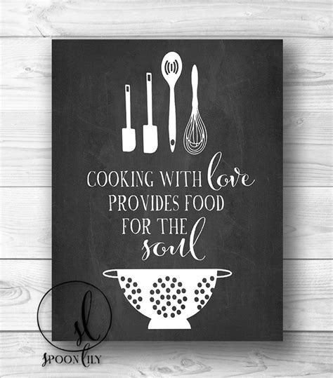 Kitchen Chalkboard Sayings Quotes. QuotesGram
