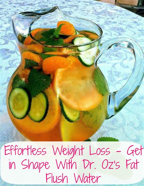 Does Flush And Detox Water Work by Detox Water Recipes For Weight Loss