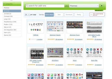 firefox themes not loading firefox themes website updated ghacks tech news
