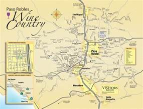 vineyards map paso robles wine maps california winery advisor
