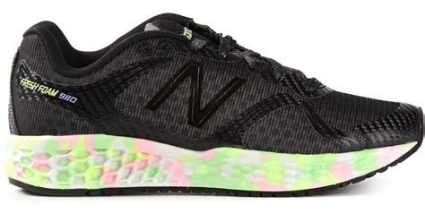 Jual New Balance Fresh Foam 980 new balance fresh foam 980 sneakers in black lyst