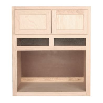 Where To Buy Kitchen Backsplash Tile by Microwave Cabinet Unfinished Oak 30 Quot
