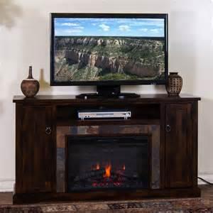 sunny designs 3488dc 60r santa fe 60 quot fireplace media