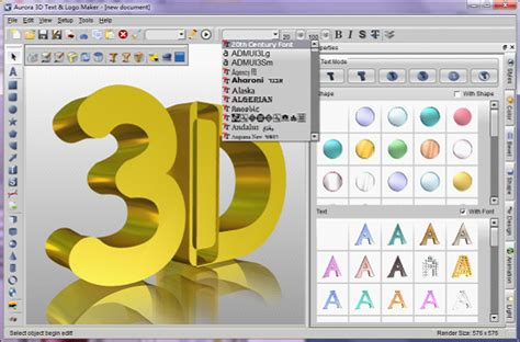 3d text design software free free logo 3d text logo