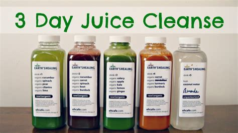 3 Day Juice Detox For Weight Loss by 3 Day Juice Cleanse Before
