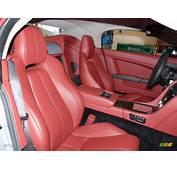 Chancellor Red Interior 2008 Aston Martin V8 Vantage