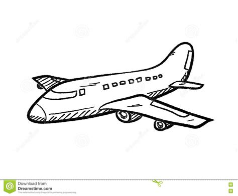 airplane doodle vector free airplane doodle stock vector illustration of doodle