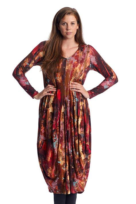 clothing splash print dress