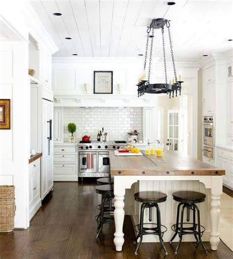 5 ways to fake a kitchen island infarrantly creative 5 ways to get this look dreamy white farmhouse kitchen