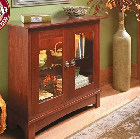 woodsmith curio cabinet plans lighted display cabinet woodsmith plans pinterest