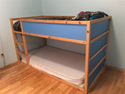 ikea bunk beds for sale ikea bunk bed wedgewood blue and pine color california