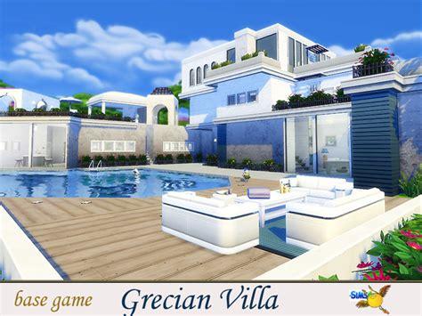 sims 4 grecian villa