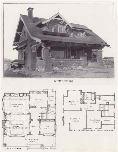california bungalow floor plans 1912 california craftsman bungalow los angeles