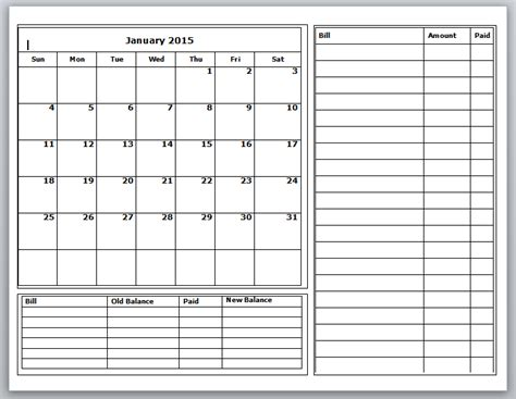 budget schedule template grace christian homeschool free 2015 budget calendars