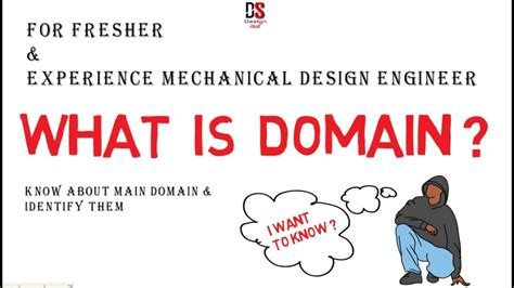 mechanical design engineer youtube what is domain for fresher experience mechanical