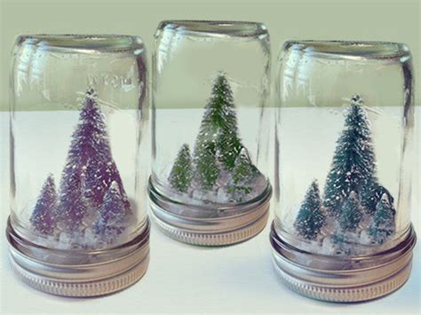 diy mason jar christmas crafts miniature christmas tree