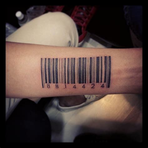 barcode tattoo maker 25 graphic barcode tattoo meanings placement ideas 2018