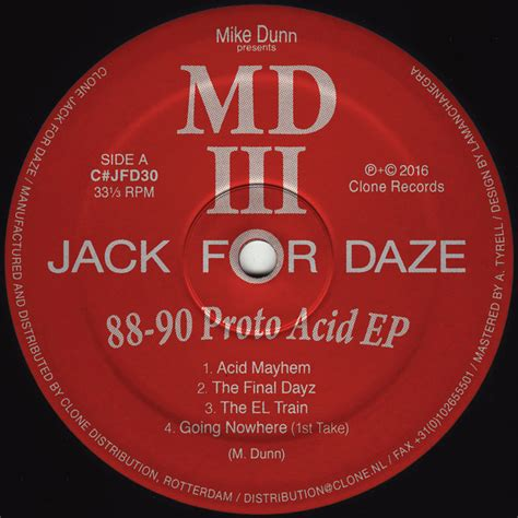 mike dunn house music mike dunn pres mdiii 88 90 proto acid cjfd030