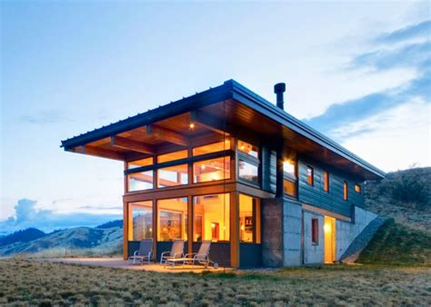 nahahum cabin passive solar lead inhabitat green design innovation architecture green