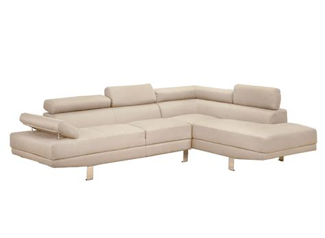 linen sectional beige contemporary modern linen fabric sectional sofa